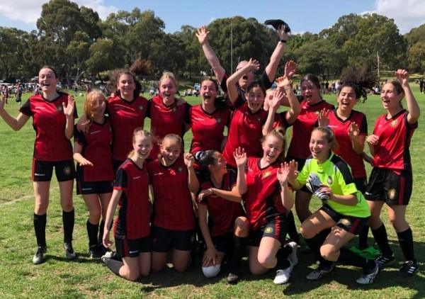 Perth girls football