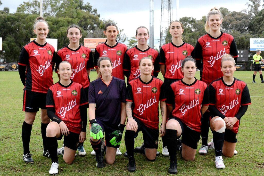 MUMFC 2021 State Cup winners